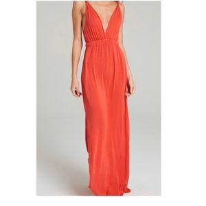 Gypsy 5 Red Maxi Dress M